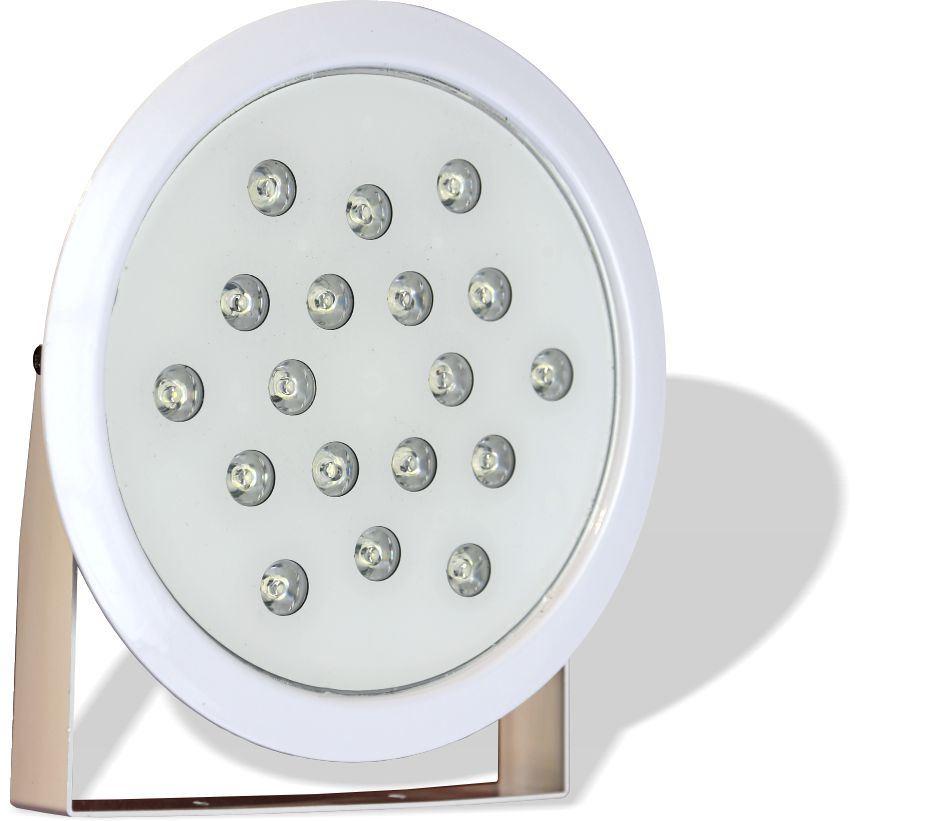تصویر از چراغ ضد آب روکار پایه دار مولتی کالر 27 وات