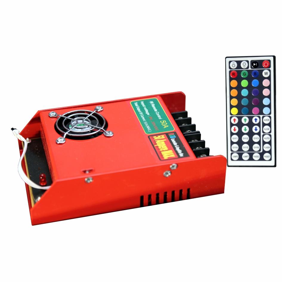 تصویر از درایور RGB  کنترلی IR (مادون قرمز ) 50 آمپر